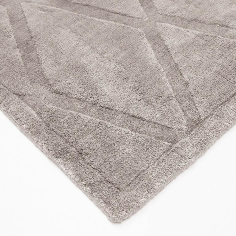 Koberec Gabia Light Gray 160x230 Carpet Decor Handmade